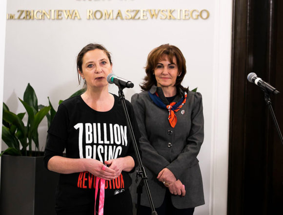 """""""Nazywam się Miliard"""" / One Billion Rising"""