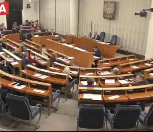 Ustawa o wyborze Prezydenta RP – prace połączonych komisji w Senacie