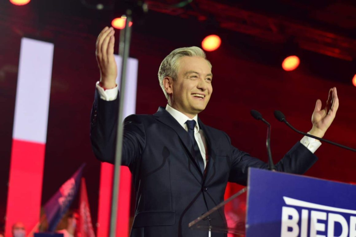 Konwencja wyborcza Roberta Biedronia