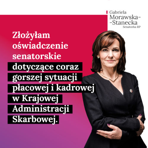 Coraz gorsza sytuacja płacowa i kadrowa w Krajowej Administracji Skarbowej.