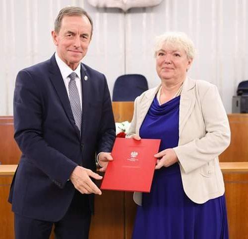 Sędzina Agnieszka Rękas została wybrana na przedstawicielkę Senatu…