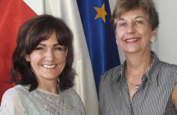 Ambasador Królestwa Niderlandów Daphne Bergsma