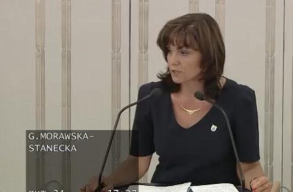 Wystąpienie podczas dyskusji nad projektem ustawy o zmianie ustawy