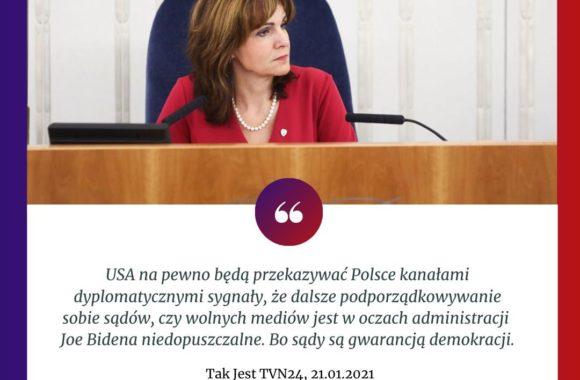 """""""Bo sądy są gwarancją demokracji"""""""
