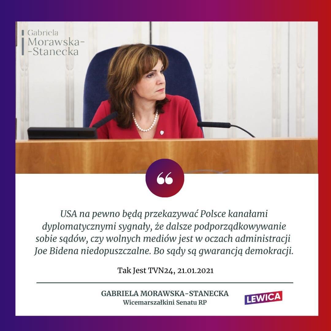 Gabriela Morawska-Stanecka – Tak Jest TVN24
