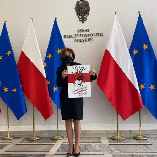 Niech żyje wolna – demokratyczna Białoruś!