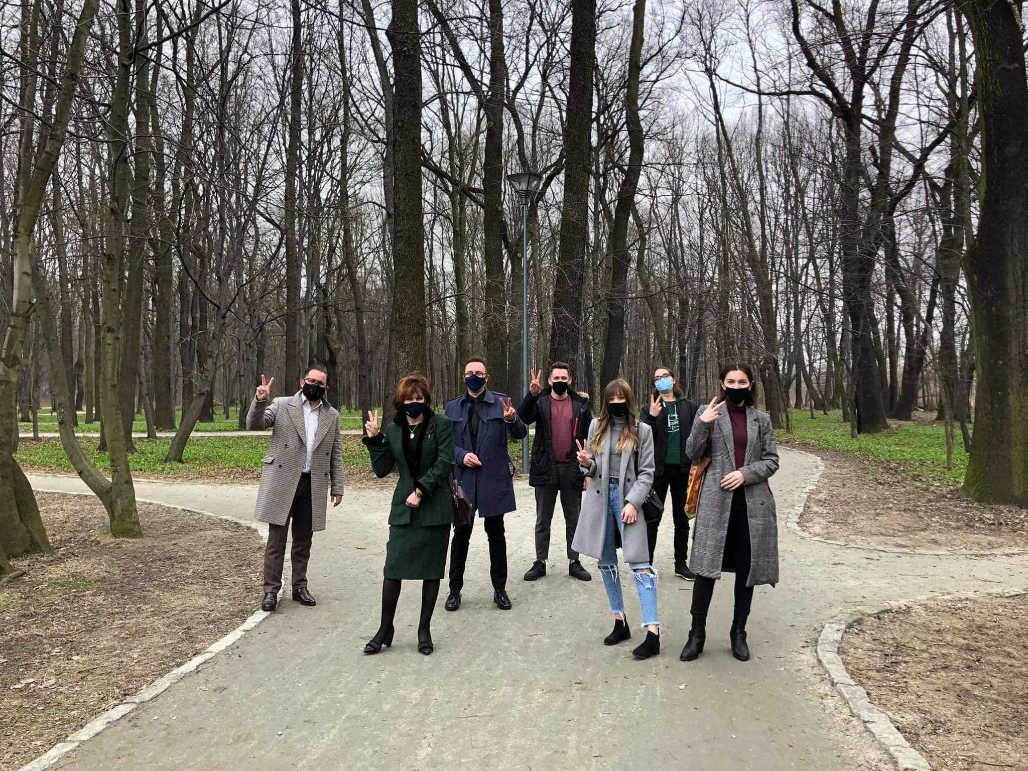 Park Zielona Dąbrowa Górnicza zdj3