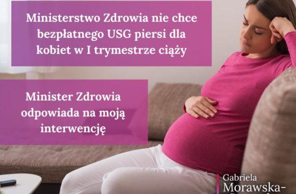 Bezpłatne badania USG piersi