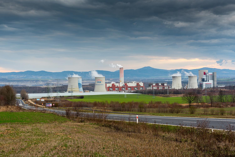 Elektrownia Turów, Bogatynia, Polska, Kopalnia odkrywkowa węgl
