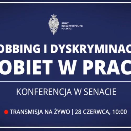 """Konferencja """"Mobbing i dyskryminacja kobiet w pracy…"""