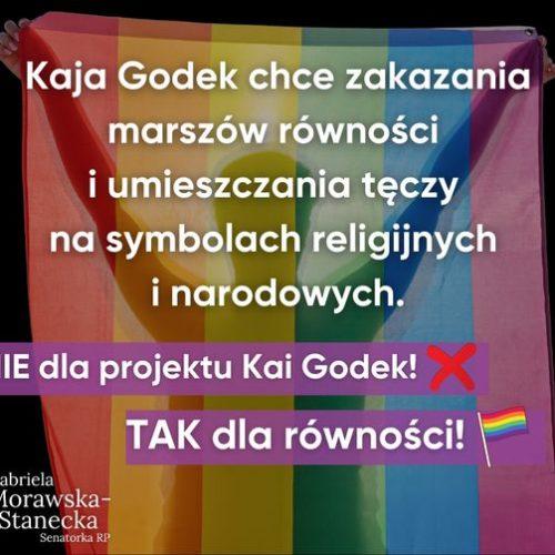Mówimy NIE kolejnym próbom ograniczania praw i wolności osób LGBT+ w Polsce!